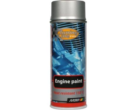Motip Tuning-Line Peinture résistant à la chaleur - aluminium - 400 ml