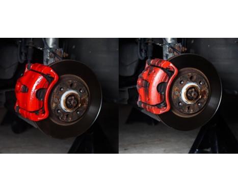 Foliatec Set de peinture pour étriers de frein - Performance Red glossy - 7 pièces, Image 5