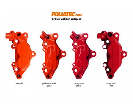 Foliatec Set de peinture pour étriers de frein - Racing Rosso Matt - 7 pièces, Image 4