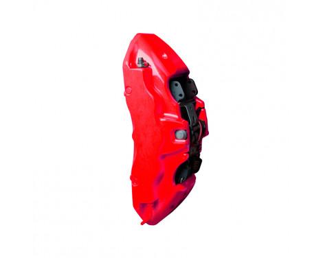 Kit peinture étrier de frein Foliatec - Rouge NEON - 10 pièces, Image 2