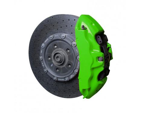 Kit peinture étrier de frein Foliatec - Vert NEON - 10 pièces
