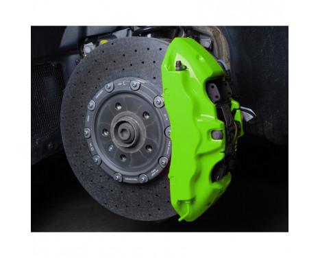 Kit peinture étrier de frein Foliatec - Vert NEON - 10 pièces, Image 8