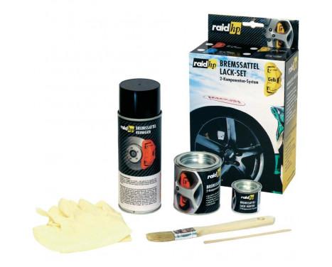 Kit peinture étrier de frein Jaune, Image 2