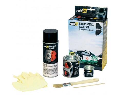 Kit peinture étrier de frein Noir, Image 3
