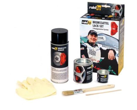 Kit peinture étrier de frein Rouge, Image 2