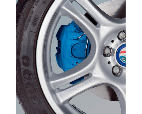 MHW Kit de peinture pour étriers de frein Avus Blue (RAL 5017), Image 2