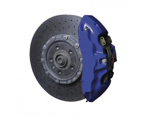 Set de peinture pour étriers de frein Foliatec - Bleu RS - 7 pièces