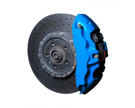Set de peinture pour étriers de freins Foliatec - Bleu GT - 7 pièces