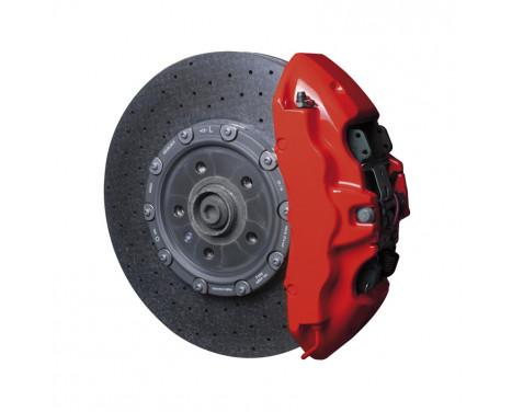 Set de peinture pour étriers de freins Foliatec - Racing Rosso - 7 pièces