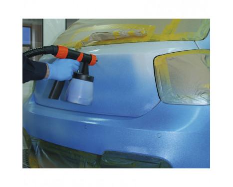 Film de pulvérisation pour carrosserie Foliatec - tapis métallique bleu et congelé bus 1x5, Image 3