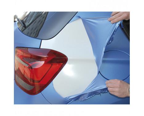 Film de pulvérisation pour carrosserie Foliatec - tapis métallique bleu et congelé bus 1x5, Image 5