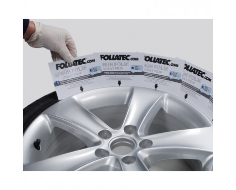 Foliatec Spray Film Set 4 pièces NEON - vert 2x400ml + couche de base 2x400ml, Image 7