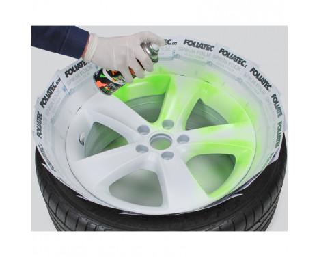Foliatec Spray Film Set 4 pièces NEON - vert 2x400ml + couche de base 2x400ml, Image 9