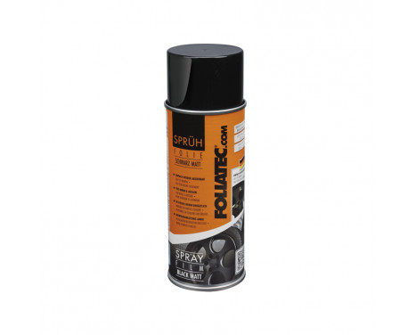 Foliatec Spray Film (Spray Foil) - noir mat - 400ml