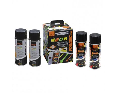Foliatec Spray Film (Spray Foil) set - NEON blue - 4 pièces, Image 2