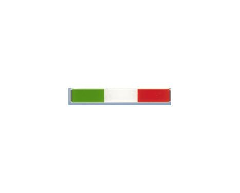Autocollant 3D '' Italia Flag '' 3pcs, Image 2