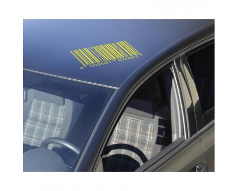 Autocollant Foliatec Cardesign - Code - jaune néon - 37x24cm, Image 3