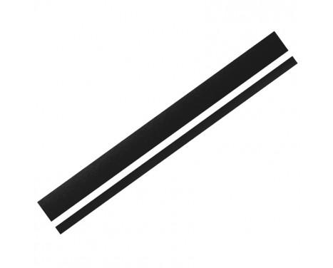 Autocollant Foliatec Cardesign - Lignes - noir mat - 150x5,8cm