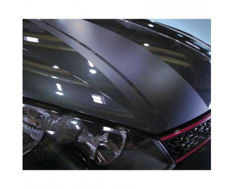 Autocollant Foliatec Cardesign - Rayures - noir mat - Longueur 150cm x Largeur 22cm, Image 2