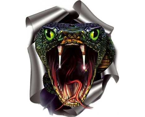 Autocollant Serpent - 17,6 x 20 cm