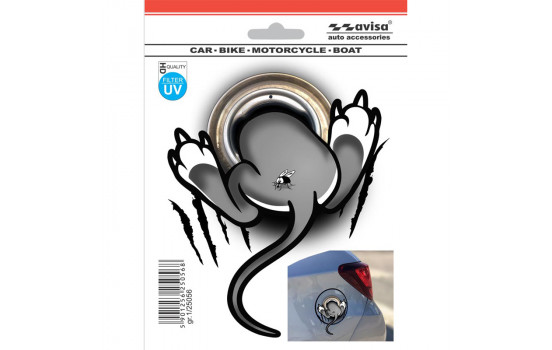 AutoTattoo 3D Sticker Mouse - 12x14,5cm