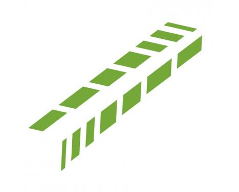 Foliatec Cardesign Sticker - Abat-jours - Vert fluo - 77x9cm - 2 pièces