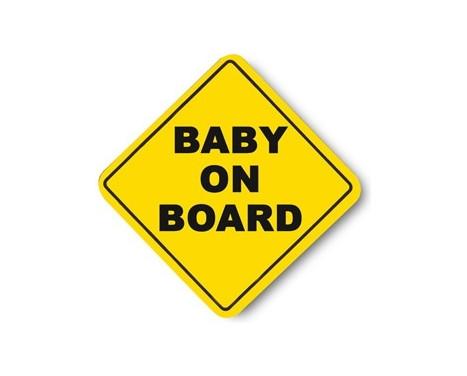 Photo 'Bébé à bord!'