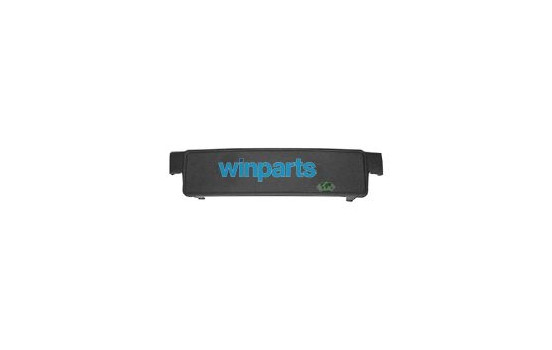 BUMPER STRIP MIDDLE BLACK (SUPPORT DE PLAQUE D'IMMATRICULATION)