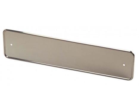Porte-plaque chrome