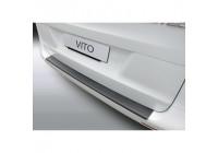 Protection de seuil arrière ABS Mercedes Vito / Classe V / Viano 5 / 2014- Noir