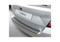 Protection de seuil arrière en ABS Skoda Fabia III Combi 11 / 2014- Noir