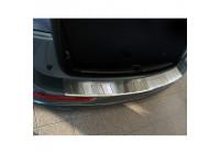 Protection de seuil arrière en acier inoxydable Audi Q5 2008-2012 et 2012 - 'Ribs'