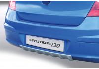 Pare-chocs arrière RGM (Diffuseur) Hyundai i30 HB 5 portes 2010-2013 argenté (ABS)
