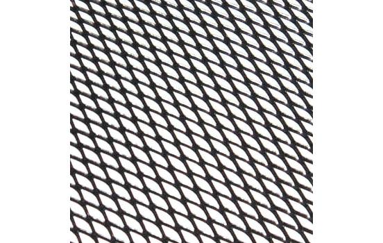 Fil métallique alu 30x90cm gaufré noir