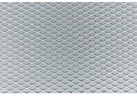 Maille de course Simoni Racing en aluminium - 100x30cm - diamant 5x9mm