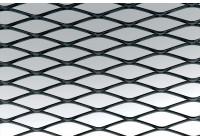 Maille de course Simoni Racing en aluminium noir - 100x30cm - diamant 12x35mm