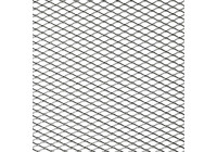 Racing mesh aluminium - Diamant 16x8mm - 125x25cm