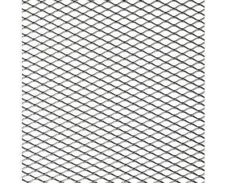 Racing mesh aluminium - Diamant 16x8mm - 125x25cm