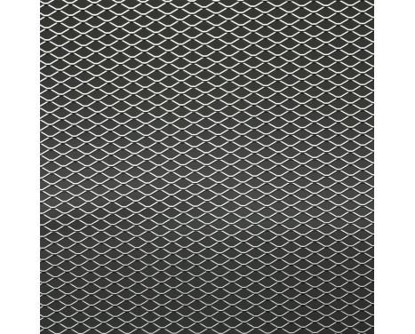 Racing mesh aluminium - Diamant Diamant 11x5mm - 125x25cm
