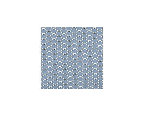 Racing mesh aluminium - Diamant Diamant 11x5mm - 125x25cm, Image 2