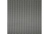 Racing mesh aluminium - Nid d'abeille 12x6mm - 125x25cm