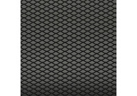 Racing mesh aluminium noir - Diamant 16x8mm - 125x25cm