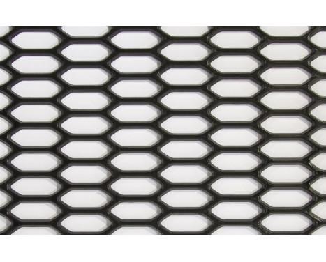 Treillis métallique Racing PP noir - HEX 30x11mm - 150x30cm