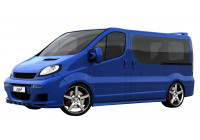 Dietrich Jupes latérales Opel Vivaro / Nissan Trafic / Nissan Primastar - empattement court