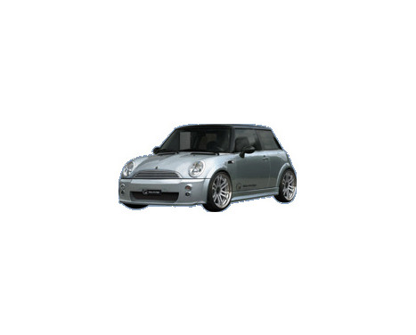 IBherdesign Pare-chocs avant BMW New Mini Fletcher avec filet