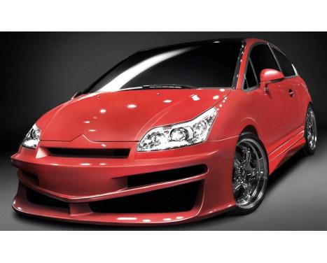 IBherdesign Pare-chocs avant Citroën C4 Coupe Fusion avec treillis