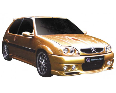 IBherdesign Pare-chocs avant Citroën Saxo 2000- VTR / VTS 'Demon' avec lampes
