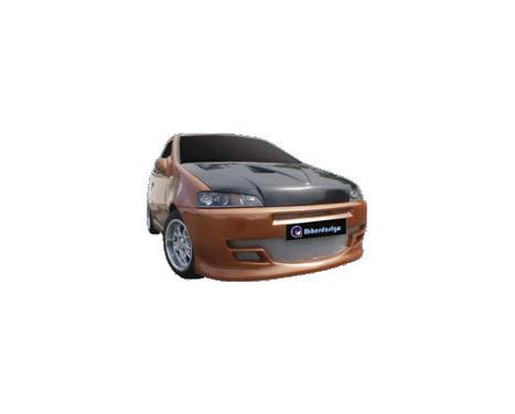 IBherdesign Pare-chocs avant Fiat Punto II 1999-2003 'Viper', Image 2
