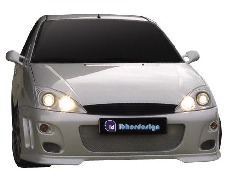 IBherdesign Pare-chocs avant Ford Focus -00 'Hunter' avec treillis