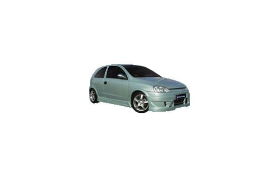IBherdesign Pare-chocs avant Opel Corsa C 9 / 2000- 'Raptor' avec filet